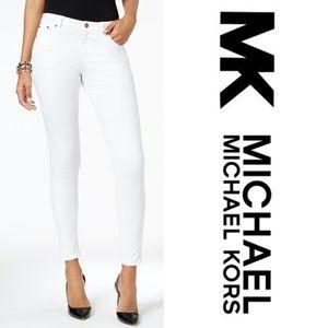 Michael Kors White Skinny Jeans Women's Size 4
